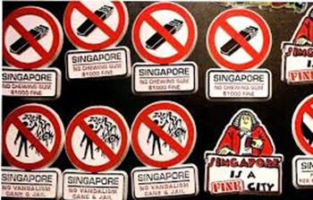 Du học Singapore - Có rất nhiều lệnh cấm ở Singapore sẽ làm bạn sốc nêu không tìm hiểu trước