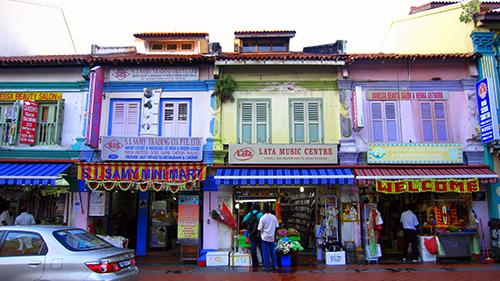 Du học Singapore - Khu tiểu ấn Little India tại Singapore