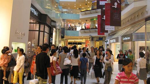 Du học Singapore - Trung tâm thương mại tại Singapore