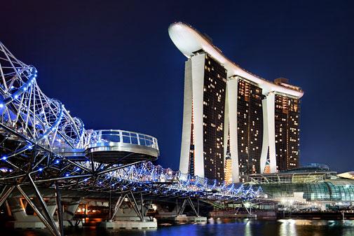 Du học Singapore - Vịnh Marina tại Singapore