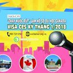 """Talkshow cà phê & du học: """"Chạy nước rút"""" chuẩn bị hồ sơ xin visa du học Canada dạng CES Tháng 1/2018"""