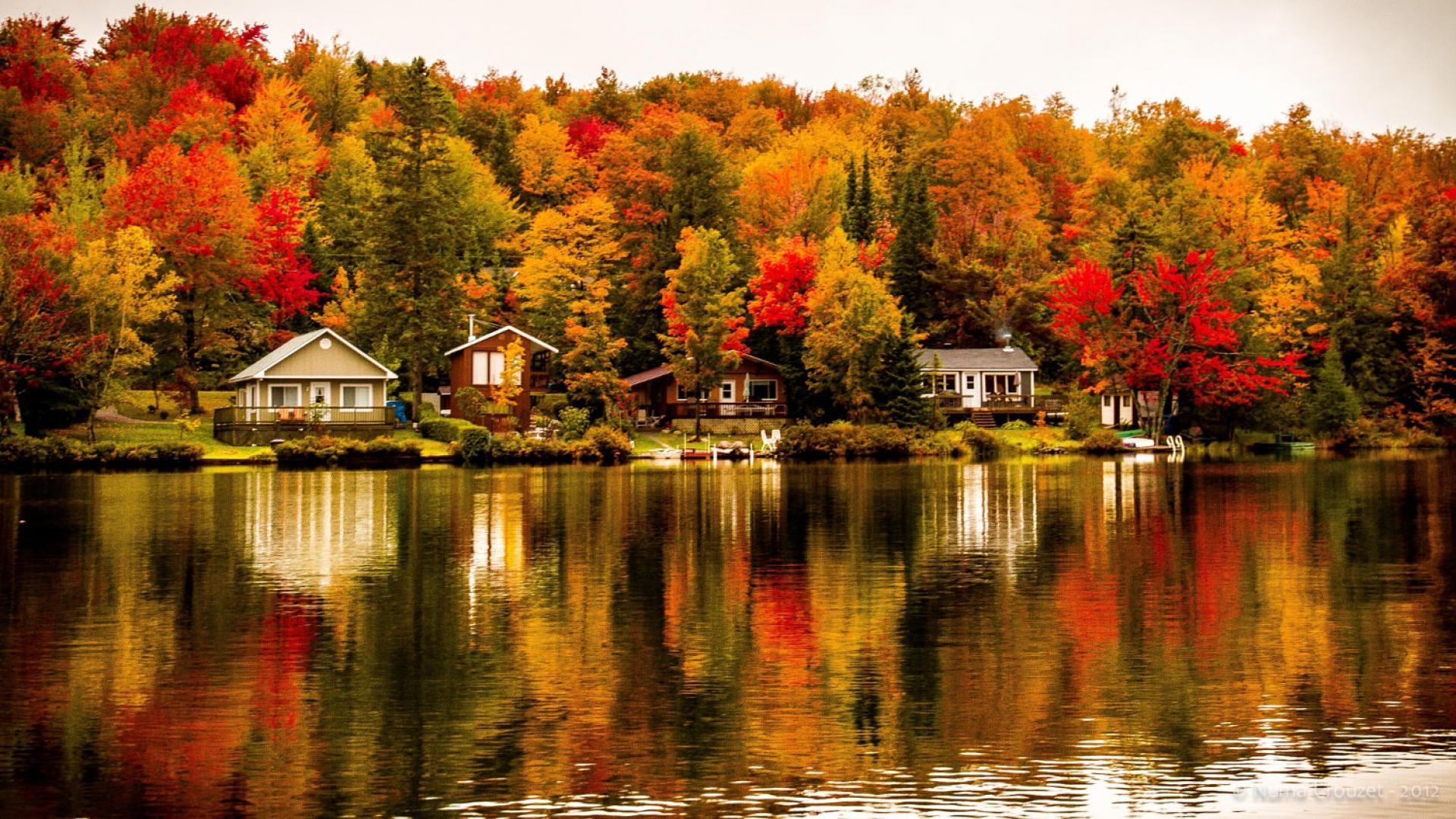 Canada xinh đẹp mùa lá phong