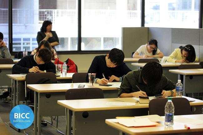 Du học Canada - Giờ kiểm tra Toán tại trường BICC