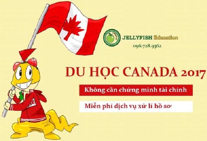 Du học Canada - Hồ sơ du học Không cần chứng minh tài chính