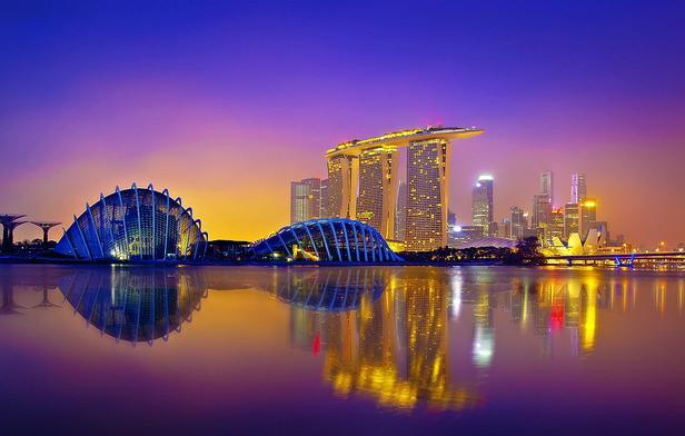 Du học Singapore - Singapore luôn sẵn sàng khiến bạn bị choáng ngợp bởi những công trình kiến trúc độc đáo như thế này