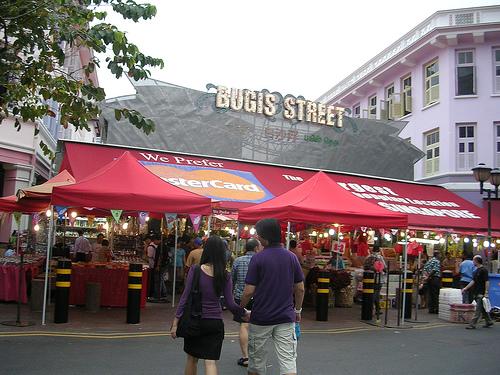 Du học Singapore - Khu mua sắm Bugis Street tại Singapore