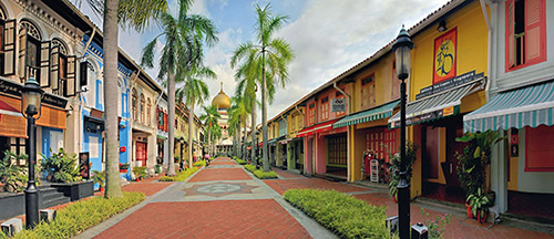 Du học Singapore - Khu mua sắm Kampong Glam tại Singapore