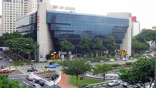 Du học Singapore - Trung tâm mua sắm Sim Lim Square Singapore