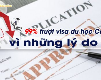 Những lý do trượt Visa du học Canada