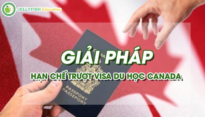 Giai phap khi truot Visa du hoc Canada