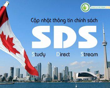 Cập nhật chính sách du học Canada SDS