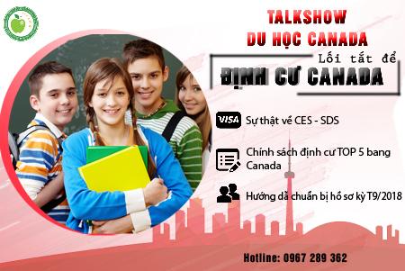 Talkshow Cà phê và Du học Canada