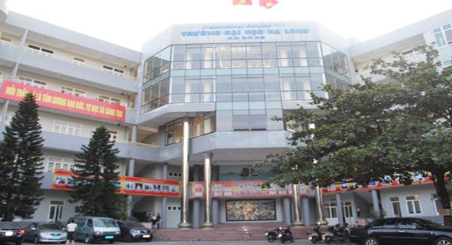 Hình ảnh trường đại học Hạ Long