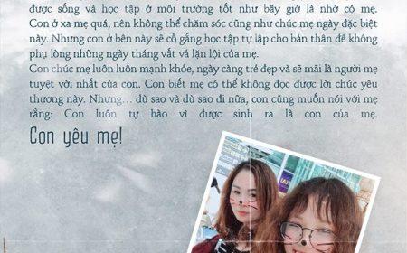 Tâm thư từ bạn Nguyễn Thị Phương Anh – DHS Canada kỳ tháng 9/2018