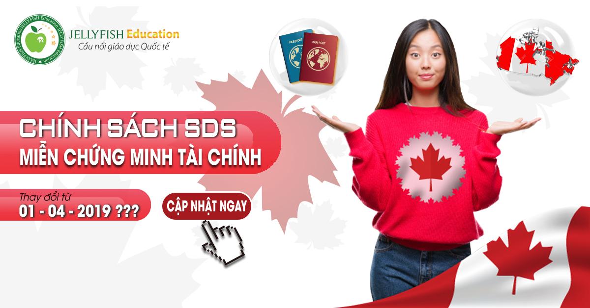 Chính sách visa du học Canada SDS sẽ thay đổi trong 2019?