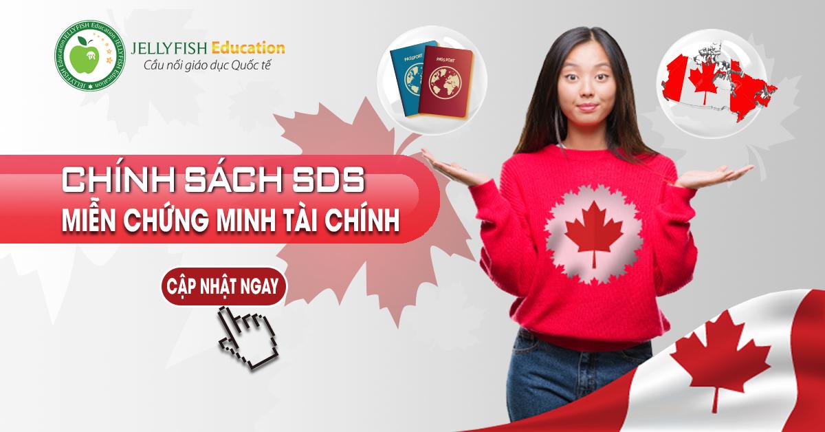 Chính sách du học Canada miễn chứng minh tài chính SDS