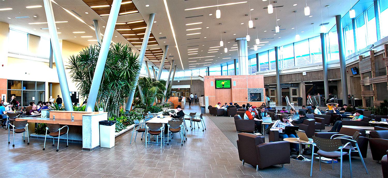 Một góc học tập tại Niagara College - Canada