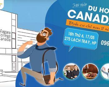 Hội thảo Canada: Định cư Canada chỉ sau 2 năm du học