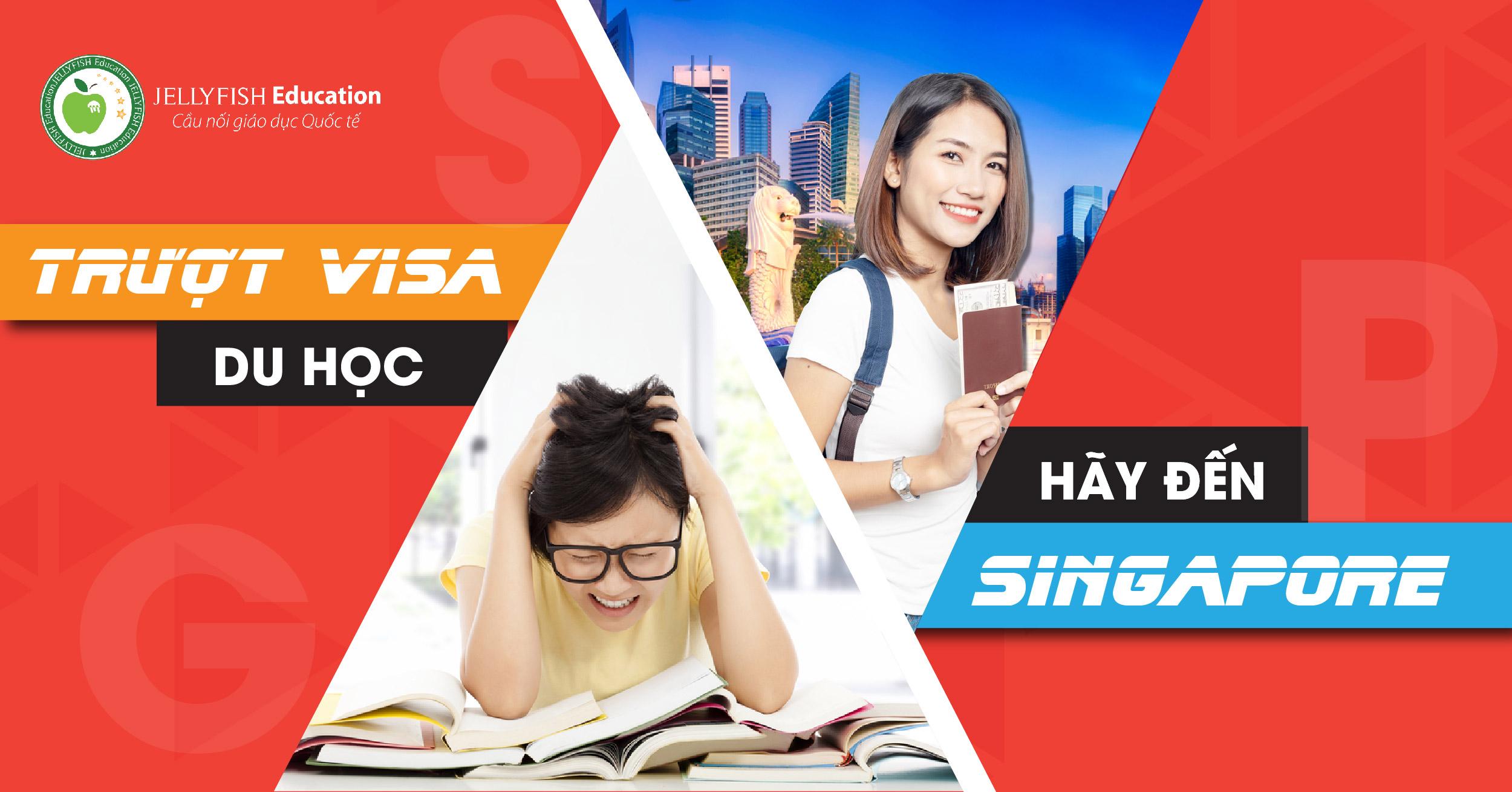 Trượt visa du học, hãy đến Singapore