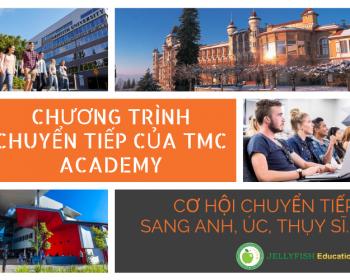 chương trình chuyển tiếp của tmc academy