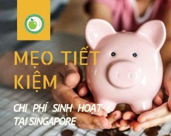 mẹo tiết kiệm chi phí du học singapore