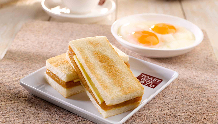 bữa sáng tại Singapore