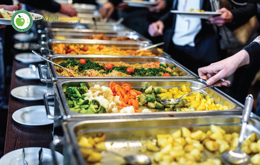 Đồ ăn Chi phí du học Canada