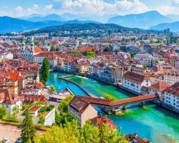 "Lucerne - ""trái tim"" của Thụy Sĩ"