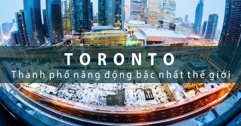 BICC nằm ở trung tâm thành phố Toronto xinh đẹp nổi tiếng thân thiện, an toàn
