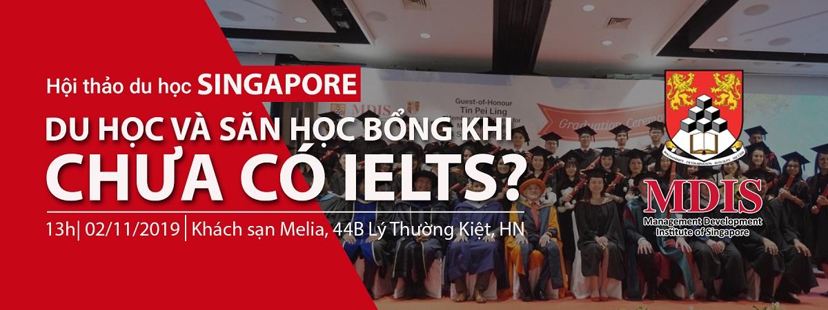 Hội thảo du học Singapore 2019