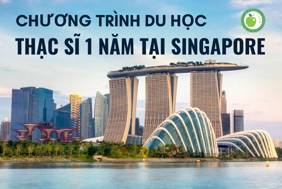 Chương trình du học Thạc sĩ 1 năm tại Singapore