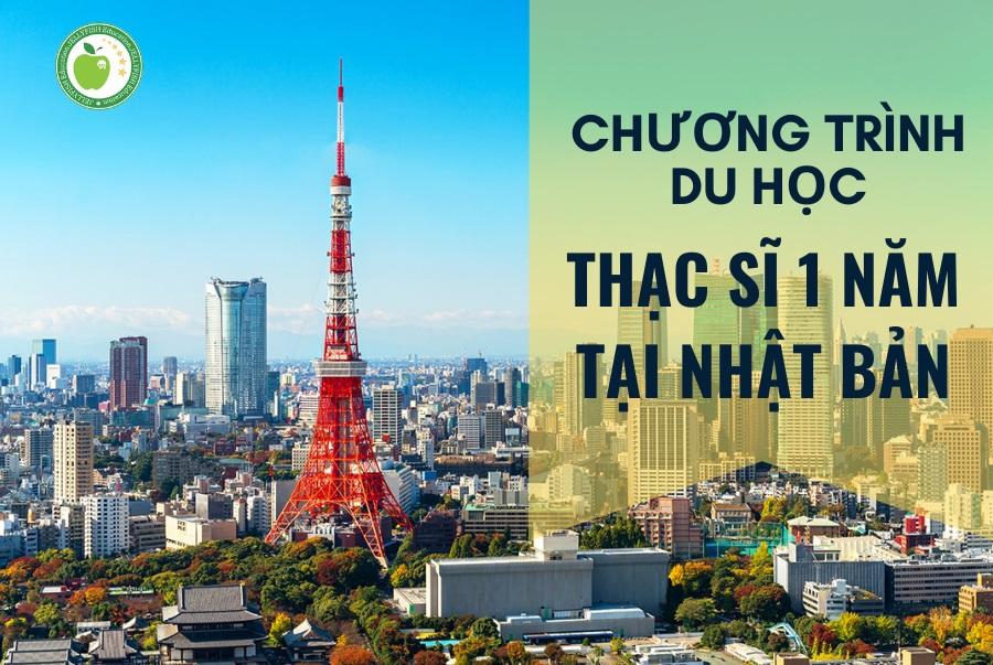 Chương trình du học Thạc sĩ 1 năm tại Nhật Bản (hệ tiếng Anh)